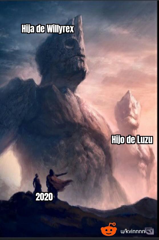 Vamos Luzu - meme