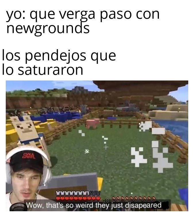 Rip newgrounds - meme