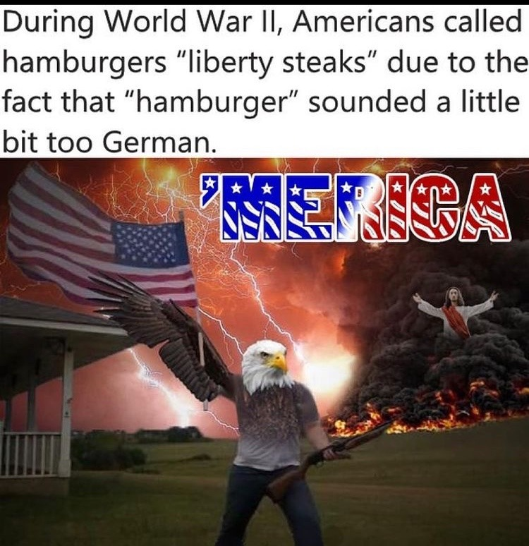 dangerously American - meme