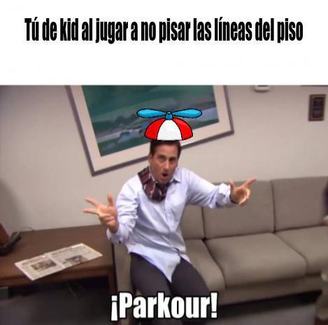 Parkour creo que es repost - meme