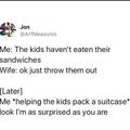 surprise adoption