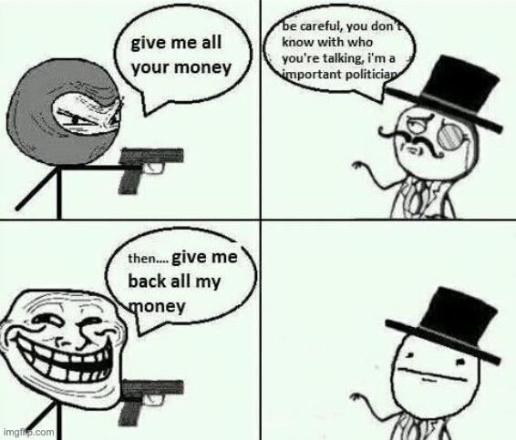 Robbery - meme