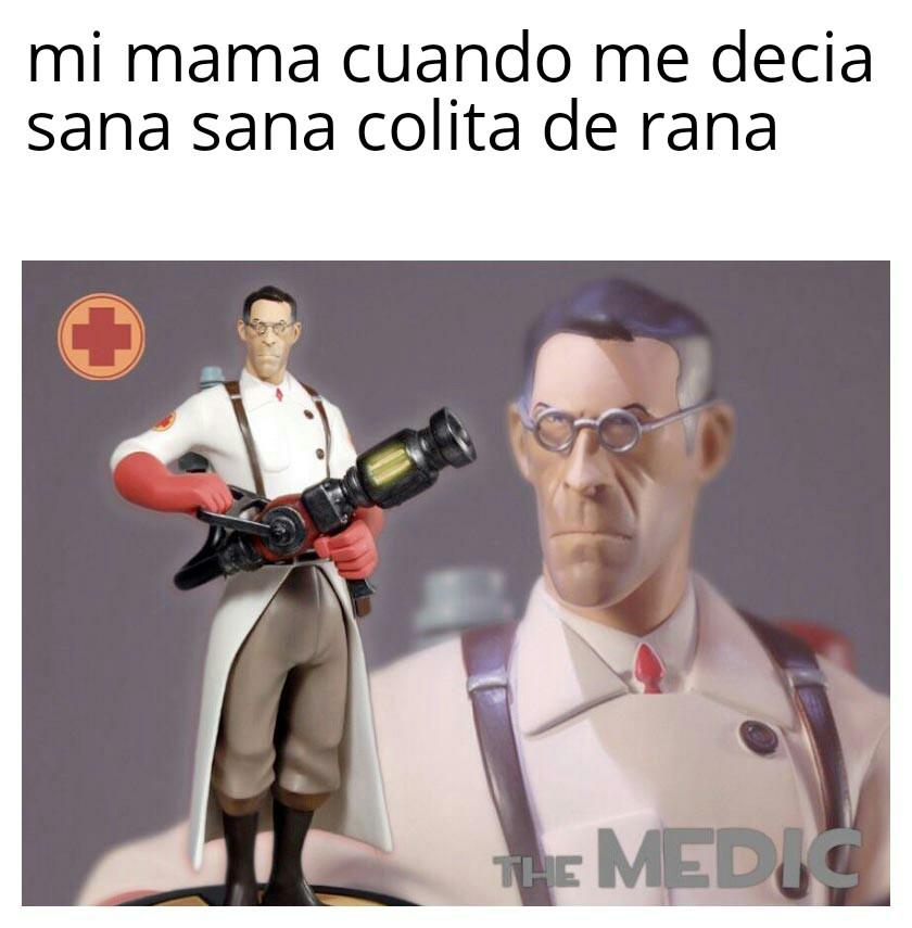 meet the medic - meme