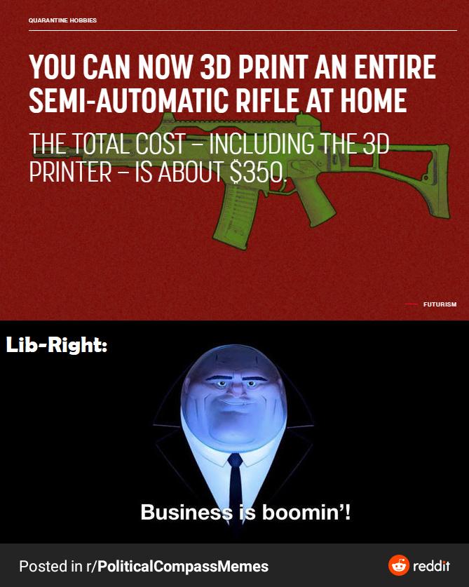 Lib-Right means libertarian right - meme