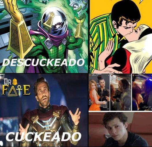 Diferencias entre Mysterios - meme