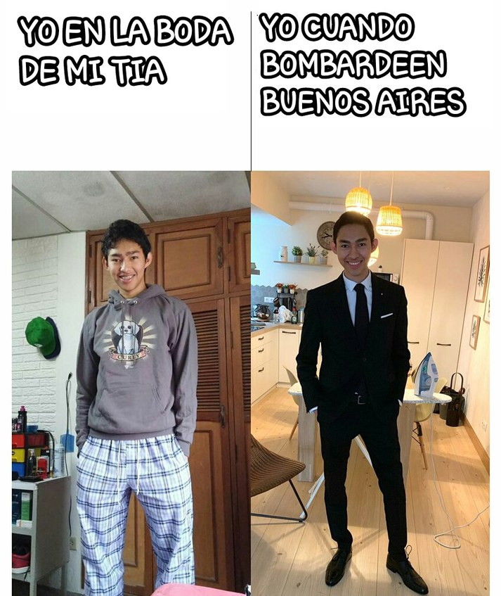 Bonaerense y la concha de tu madre - meme