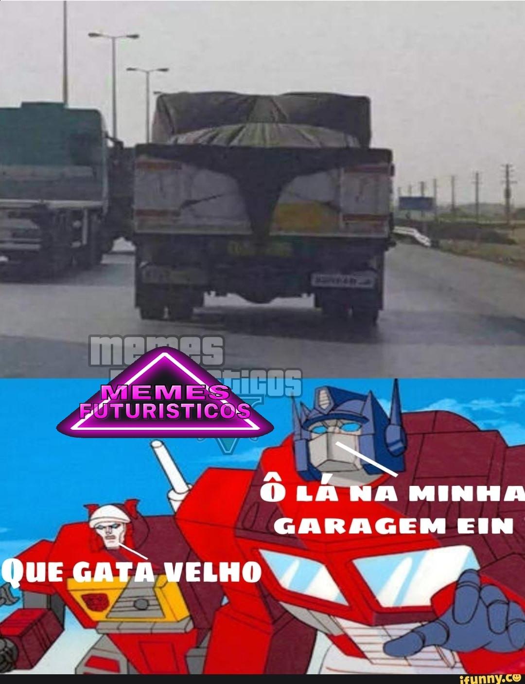 Caminhão sexy - meme