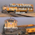 moderation ruins funny's