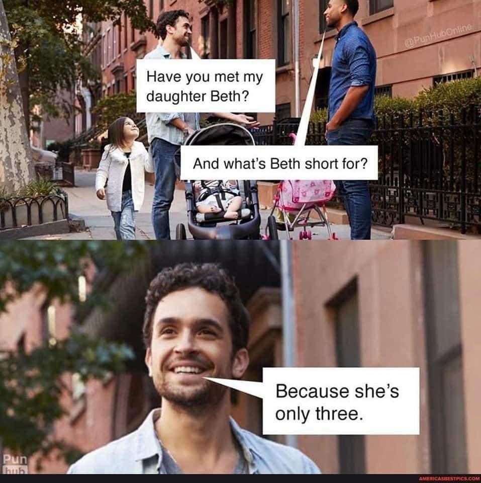 Short Beth - meme