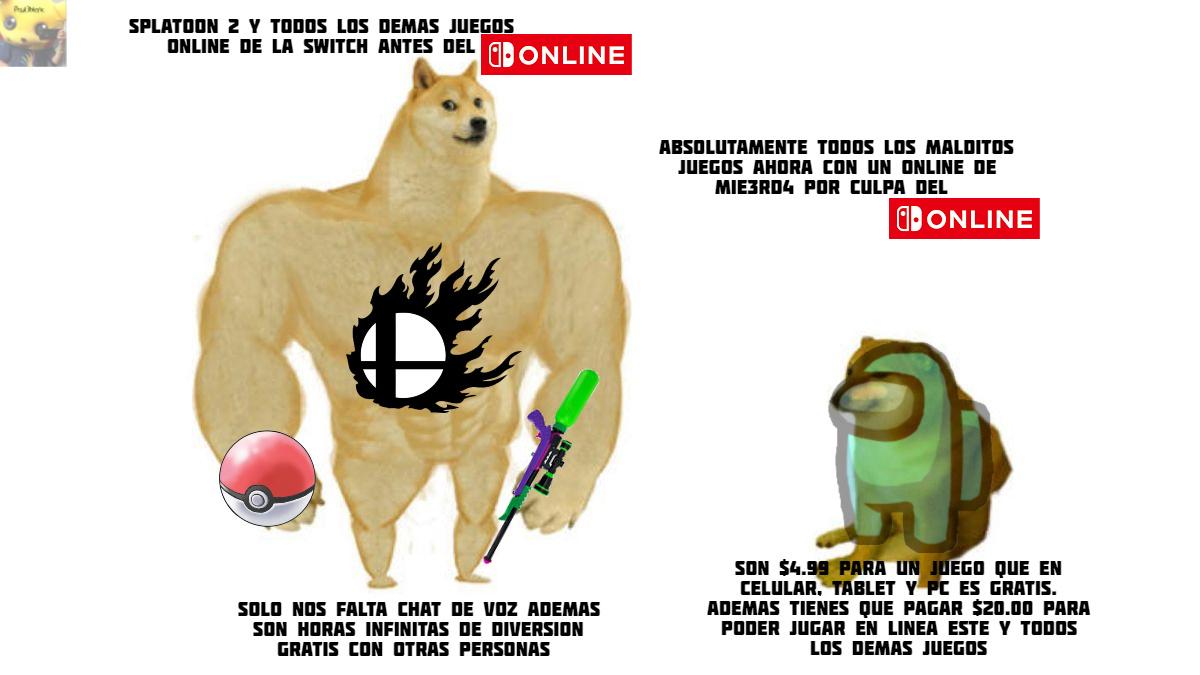 Yo si pude jugar los juegos online sin pagar... Fue hermoso!! - meme