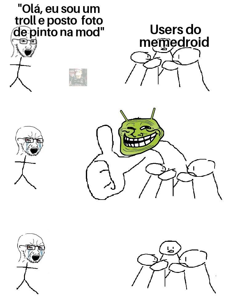Bom dia, uploader triste - meme