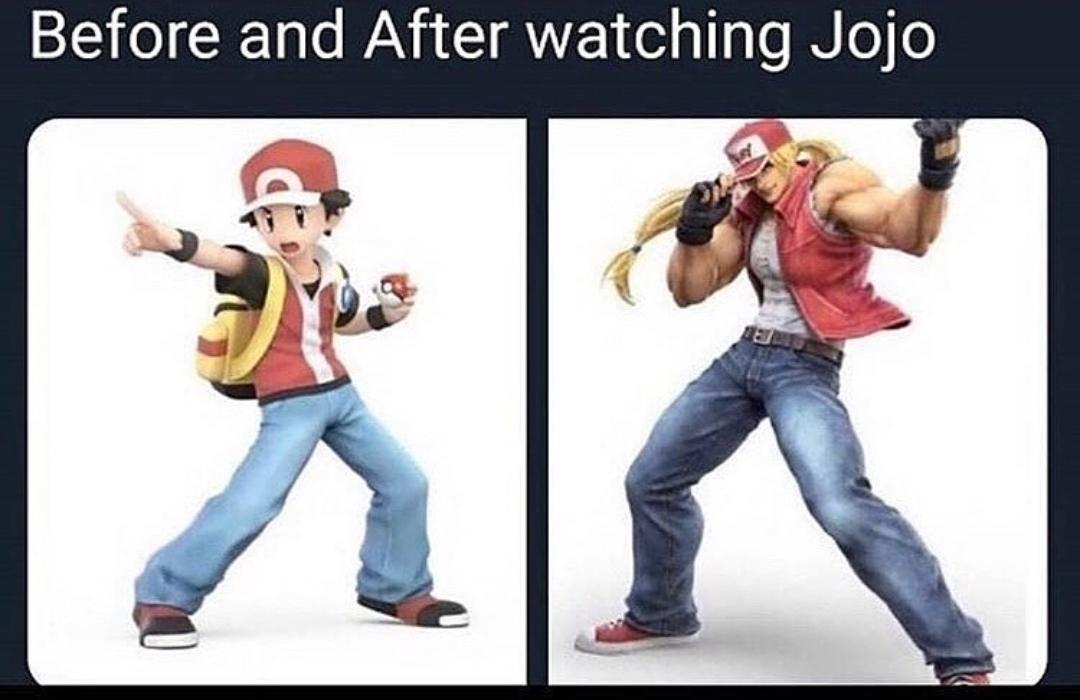 Jonathan Joestar I choose you! - meme