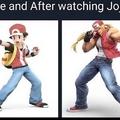 Jonathan Joestar I choose you!