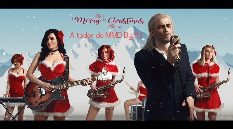 Feliz Natal Witchers - meme
