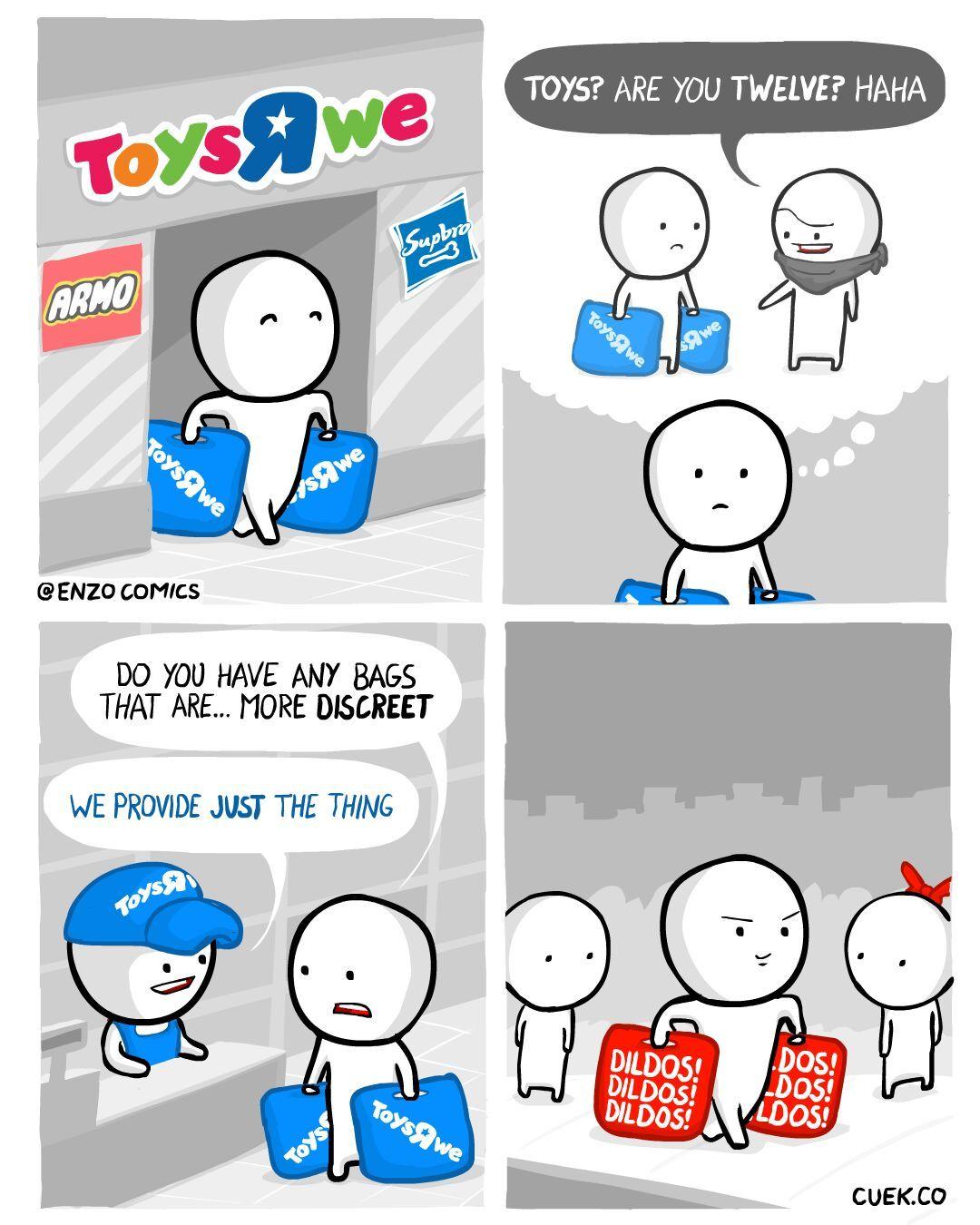 bags for everybody! - meme