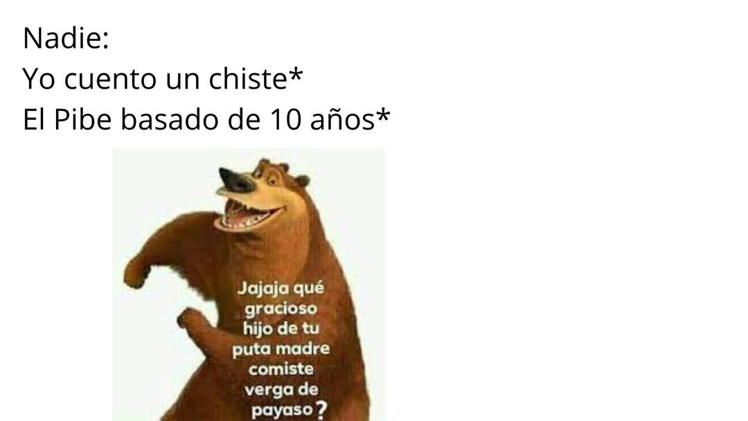 No MAMES JAJA - meme
