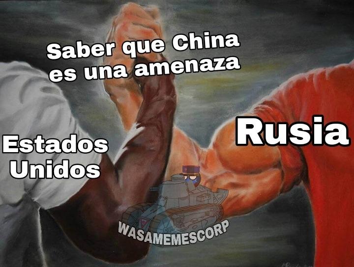 Puta China - meme