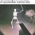 spooktober is here