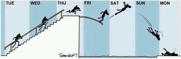 La semana - meme