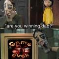 """""""Você está ganhando pai?"""" Nunca consegui zerar"""