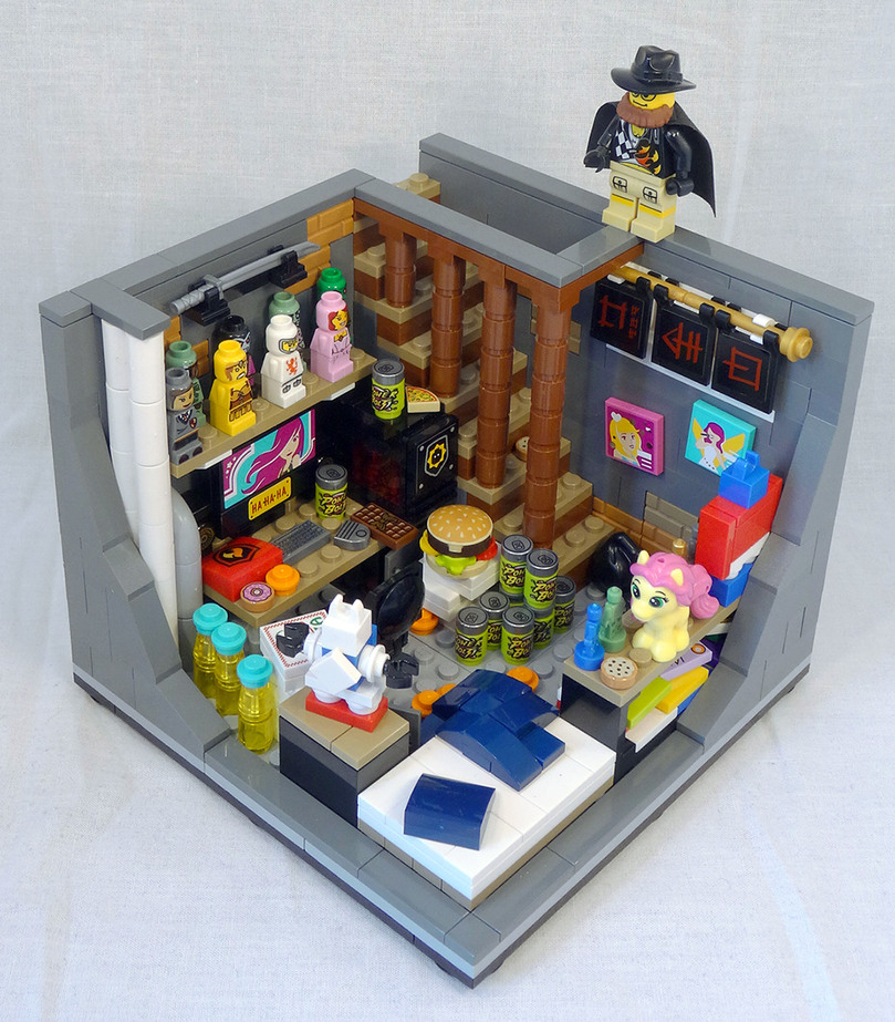 LEGO Anon's bedroom. - meme