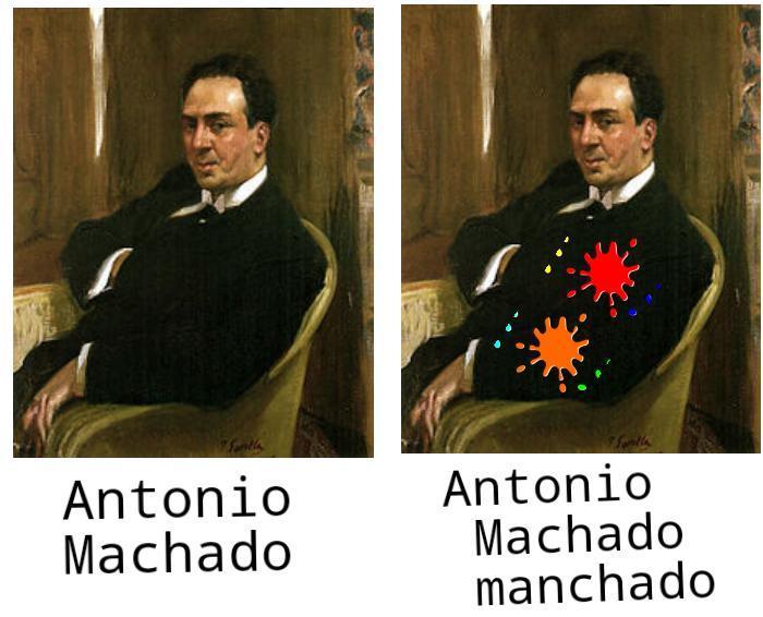 Antonio machado manchado xd - meme
