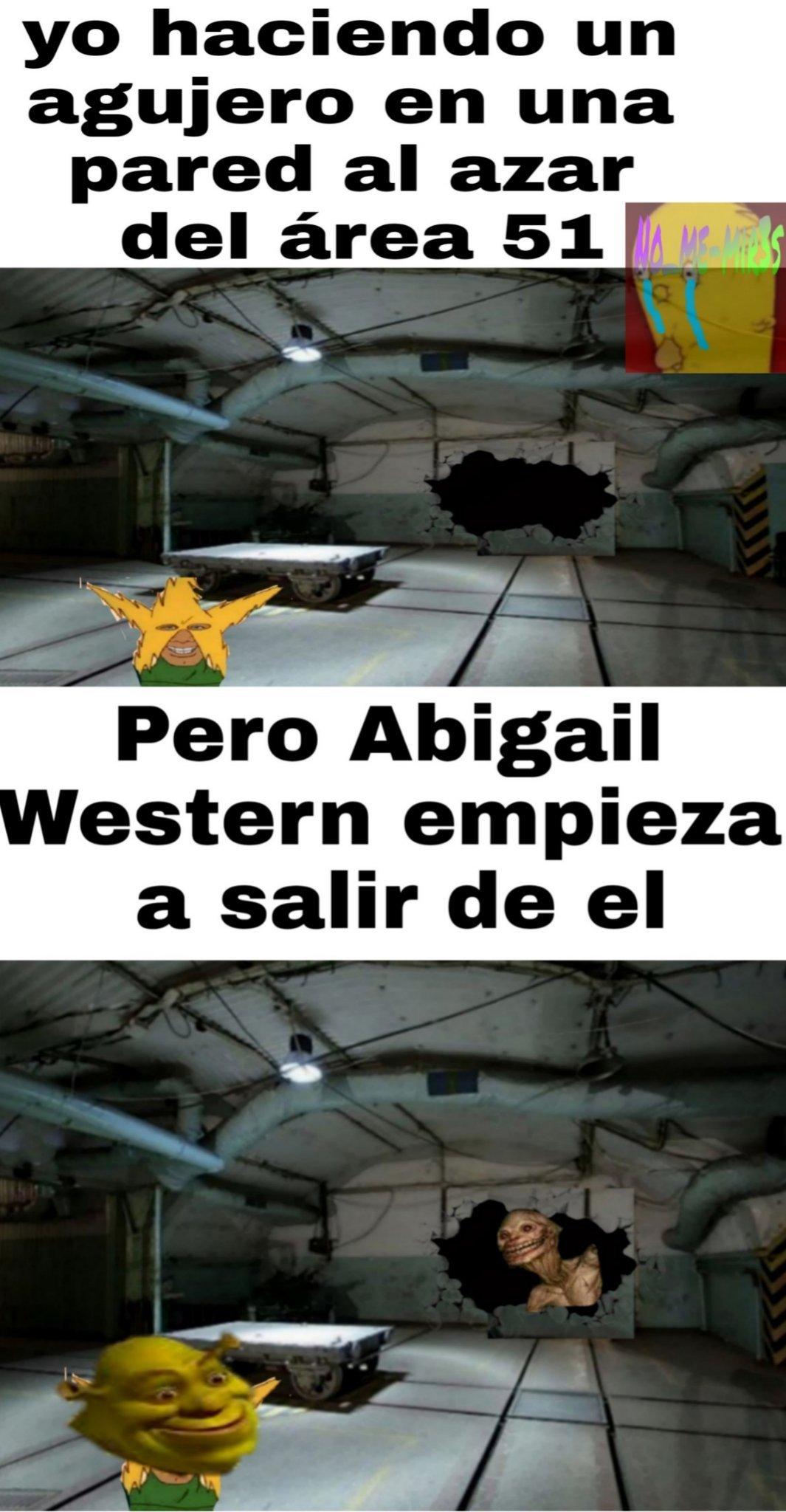 Meme (vean la historia de abigail western)
