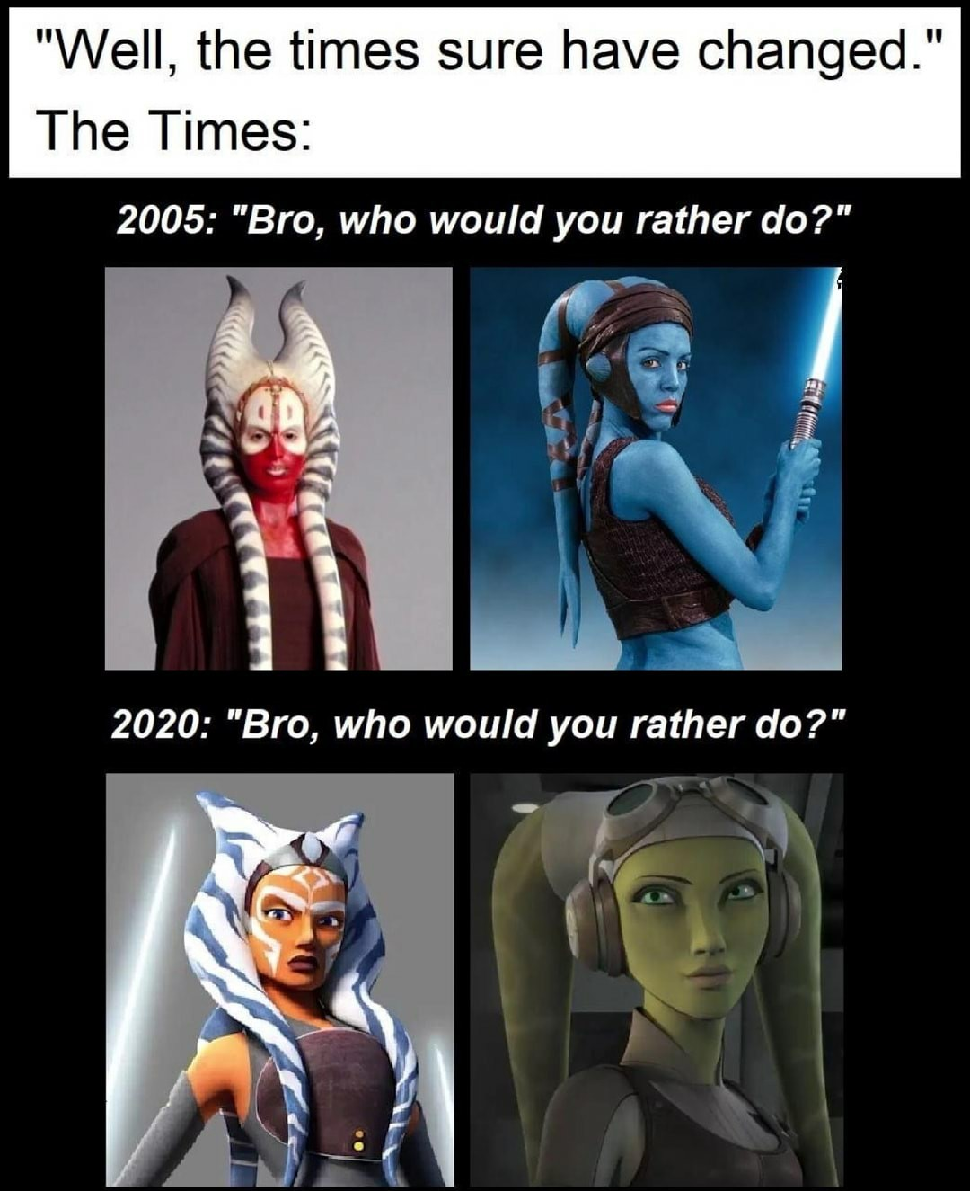 Always had a thing for Yaddle (Prequelwars) - meme