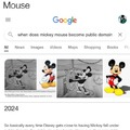 Mickey Mouse will soon be public domain