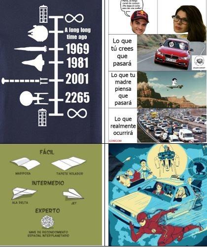 vehículos memes-orden cronológico