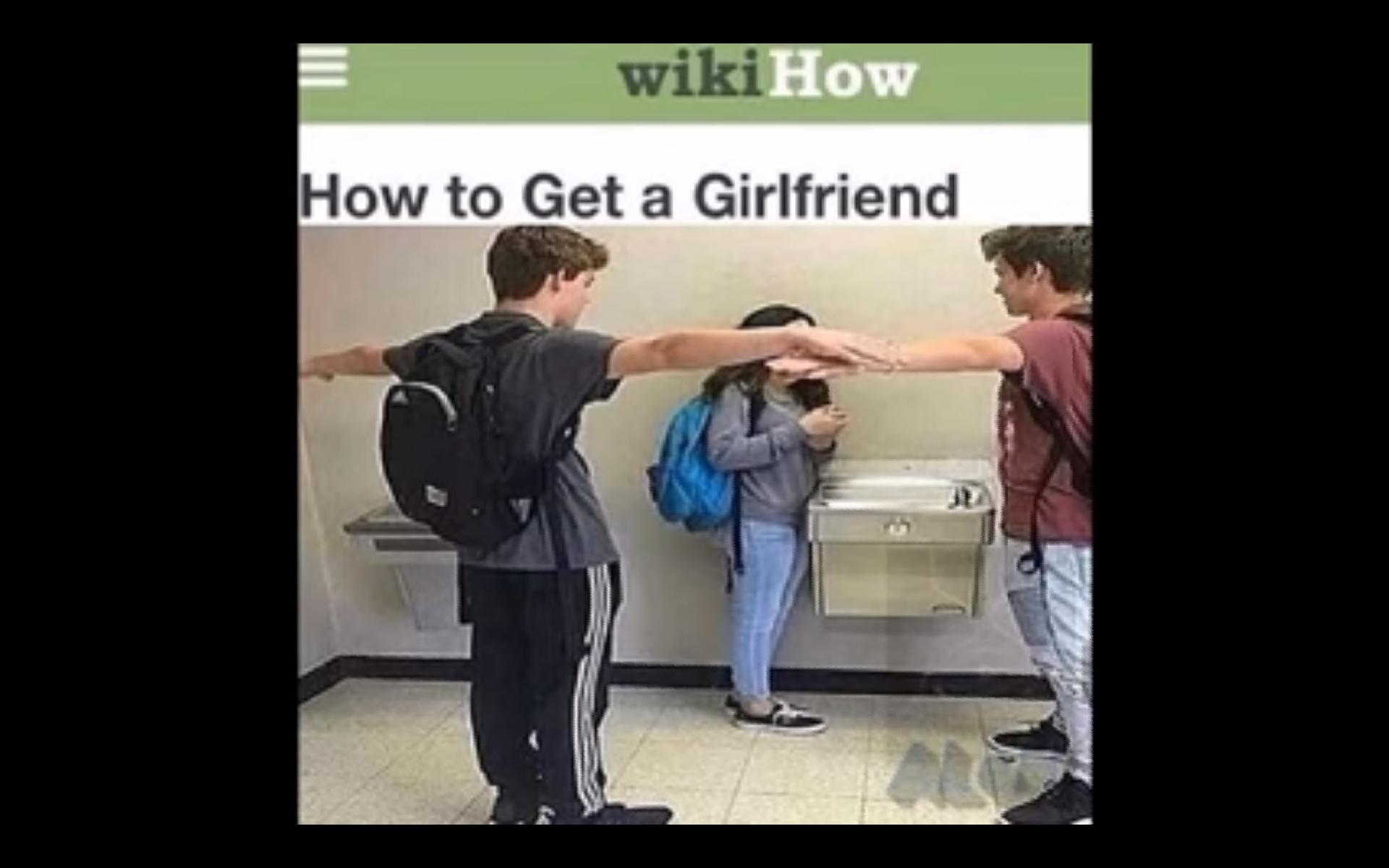 Comment obtenir une copine - meme