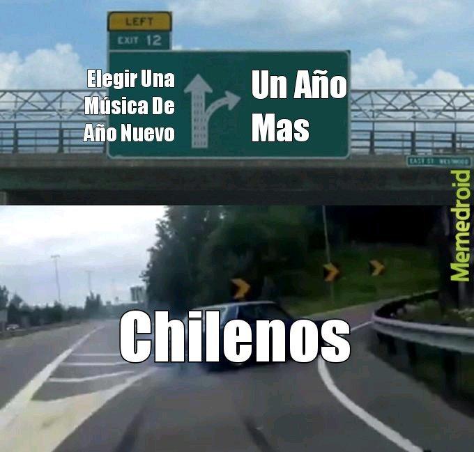 Feliz Año Nuevo Chileno - meme