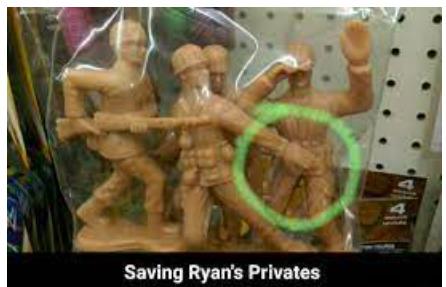 Saving Ryan's Privates - meme