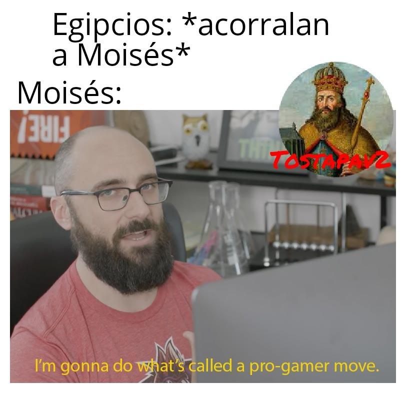 Moisés Chad - meme