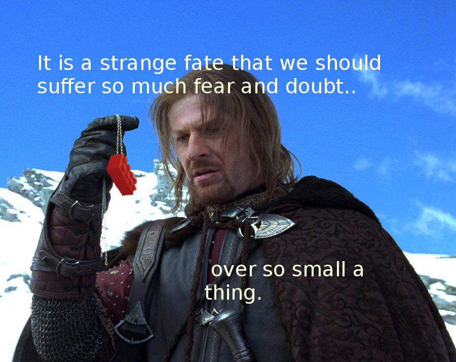 Cast it into the fire!! - meme