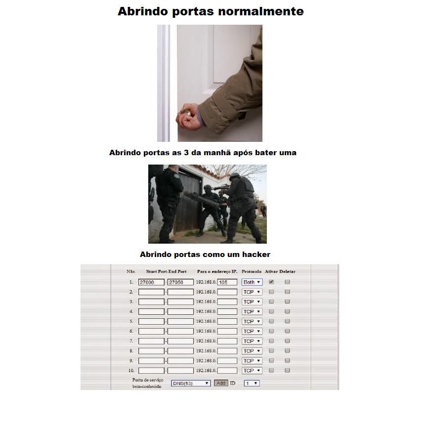ABRINDO PORTAS - meme