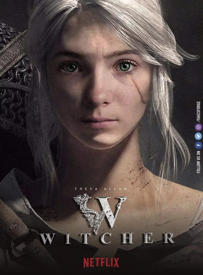 Ciri confirmed for the Witched Netflix adaptation. Glad they were true to the source material - meme