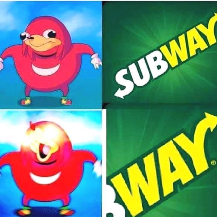 Sub way - meme