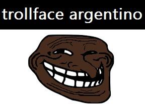 trollface argentino - meme