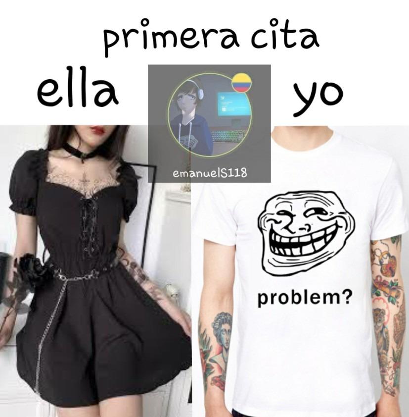 Quiero una de esas camisas con el trollface xd - meme