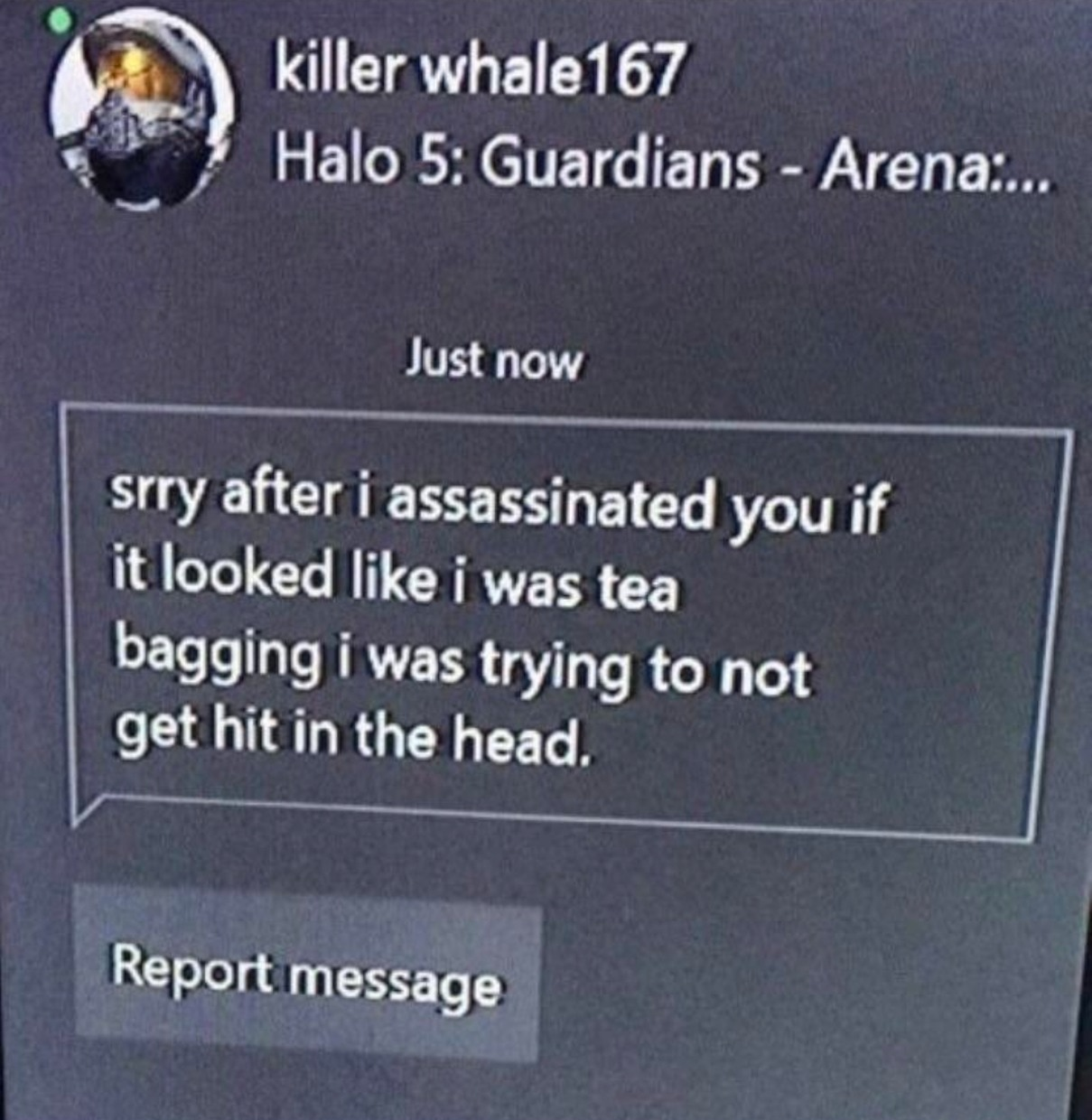 This is the nicest person I've ever met on Xbox what the fuck - meme