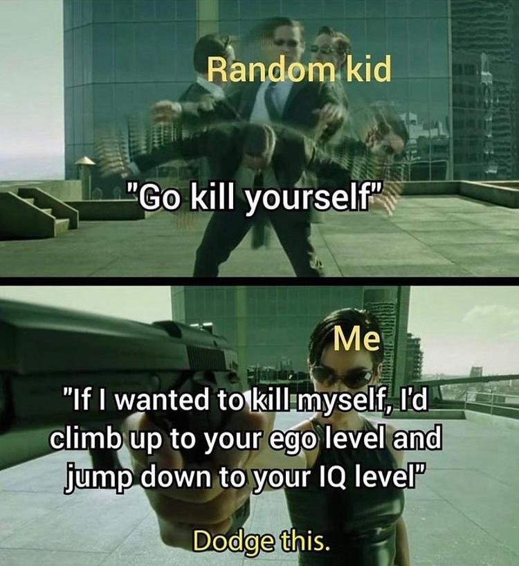 good comeback - meme