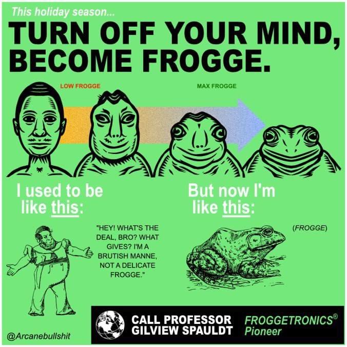Frogge - meme