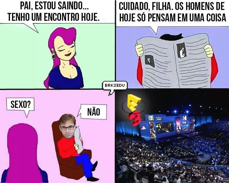 E3 sempre - meme