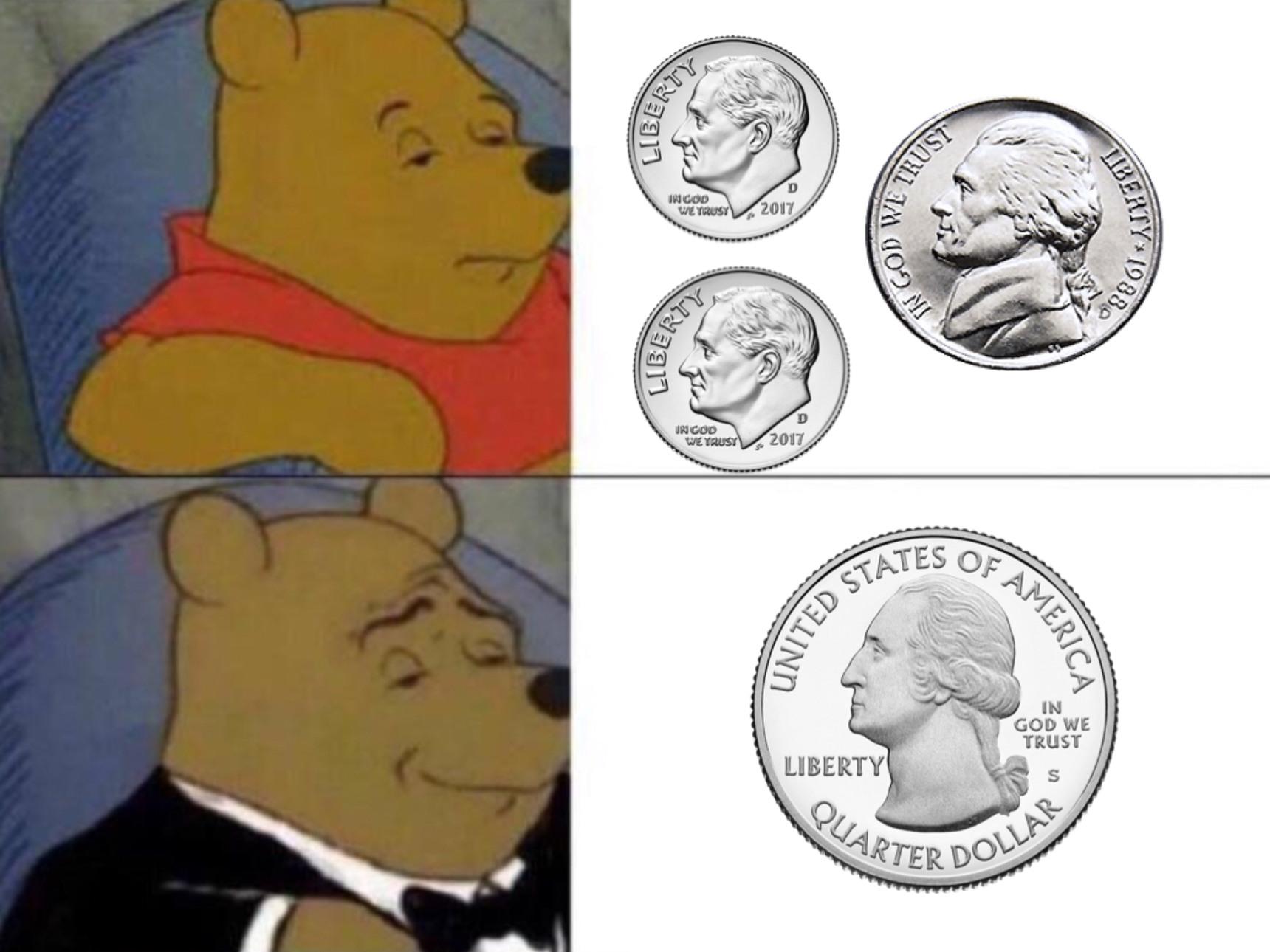 Americans in a nutshell - meme