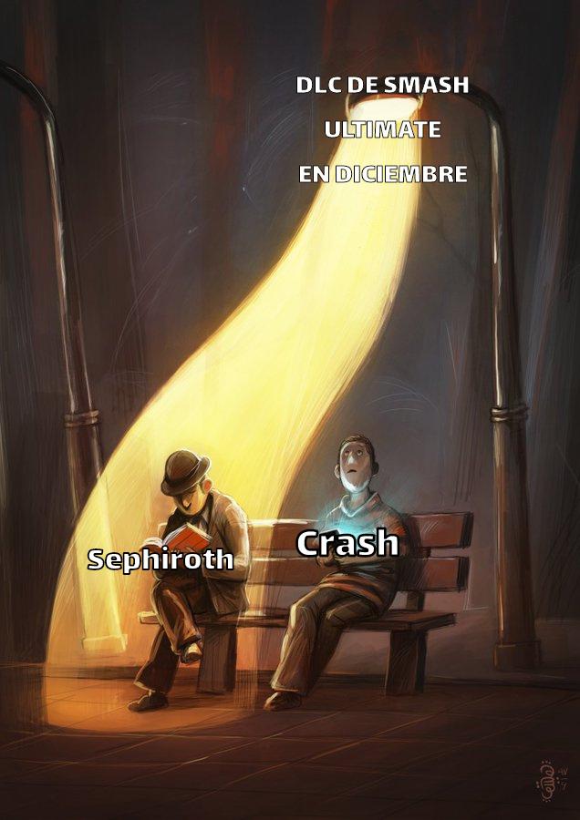 Mejor sephiroth que un personaje de fornite no? - meme