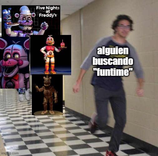 Explico: Funtime es un parque de Dsiney pero cuando pones imágenes te salen los de fnaf sl y el funtime Freddy es de Count The Ways - meme