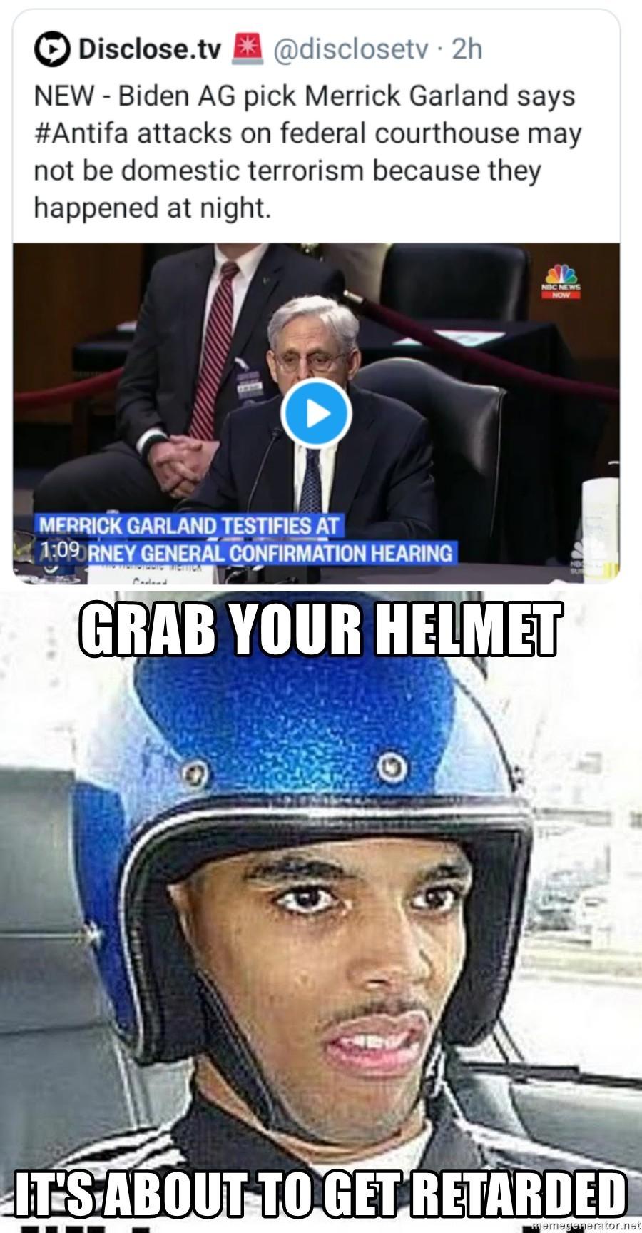 And this is why it is a good thing he isn't on SCOTUS - meme
