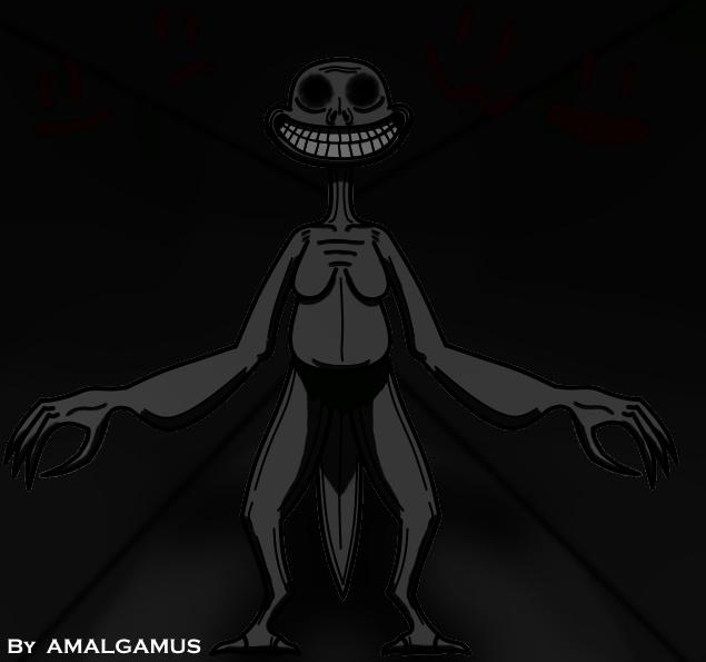 Bueno hice este dibujo hace 2 dias, muchos dijeron  que era un Trollger. - meme