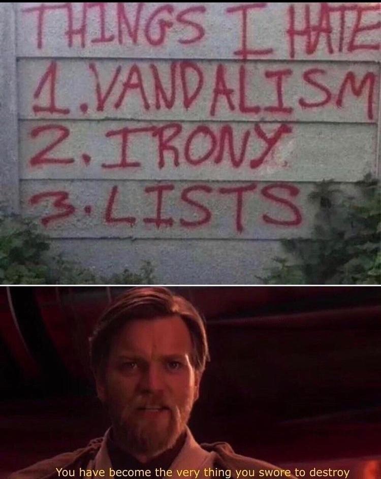irony - meme